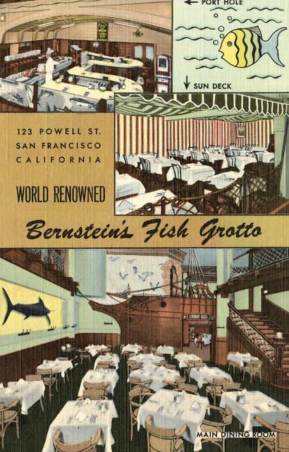 Bernstein fish grotto restaurant san francisco flickr for Fish and farm sf