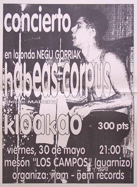 Habeas Corpus+Kloakao