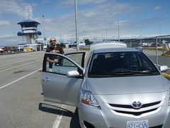 automobile(1.0), automotive exterior(1.0), toyota(1.0), toyota belta(1.0), vehicle(1.0), compact car(1.0), land vehicle(1.0),