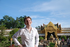Jeroen At Phra Maha Chedi Chai Mongkol