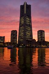 in the evening twilight