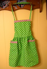 girly girl fun apron