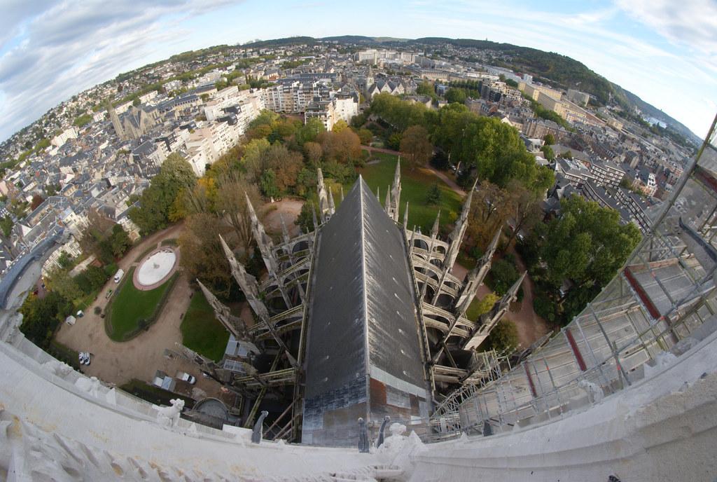Pont jeanne d 39 arc map france mapcarta - Piscine ile lacroix rouen ...
