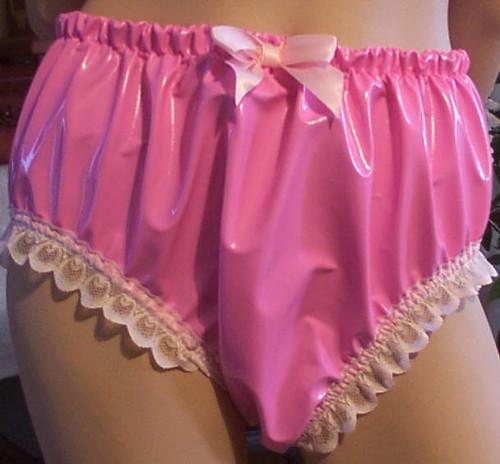 Sissy pink panties have hit