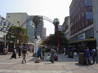 First Street, Harare, Zimbabwe | by Tips For Travellers
