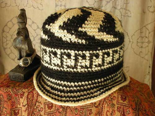 Celtic Tapestry Crochet Hat