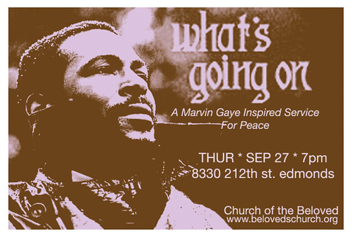 Marvin Gaye Flyer