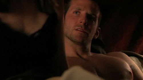 Gorgeous Bradley Cooper shirtless. More at my shirtless blog!