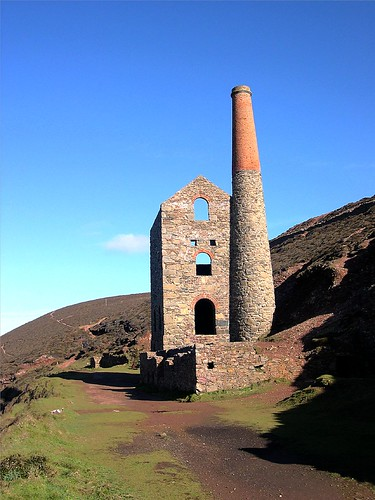 Wheal Coates Engine House, St. Agnes, Cornwall.