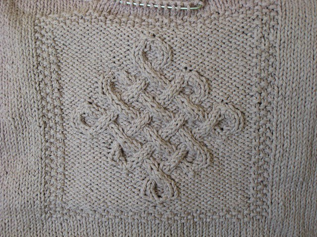 Celtic Love Knot Knitting Pattern : Celtic Knot Sweater Flickr - Photo Sharing!