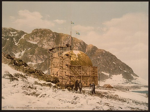 [Andree's Station at Danskoen, Spitzbergen, Norway] (LOC)