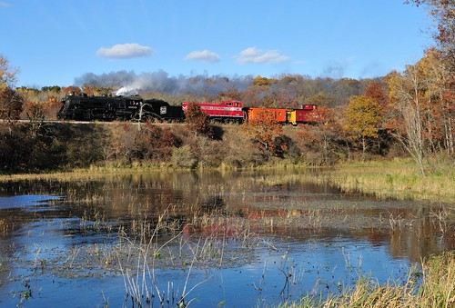 road railroad water cheese wisconsin train pond state eagle rail steam line swamp transportation badger locomotive soo bog wi 1003 wsor