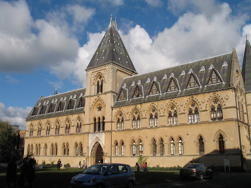 Exterior, Oxford University Museum of Natural History and Pitt Rivers Museum