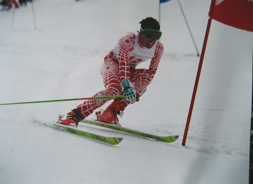 Me racing at Snowbird in 1990