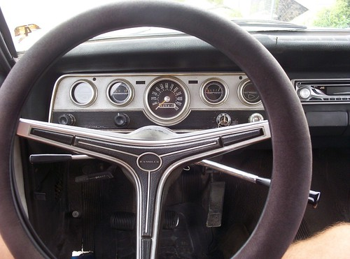 Dashboard from the past