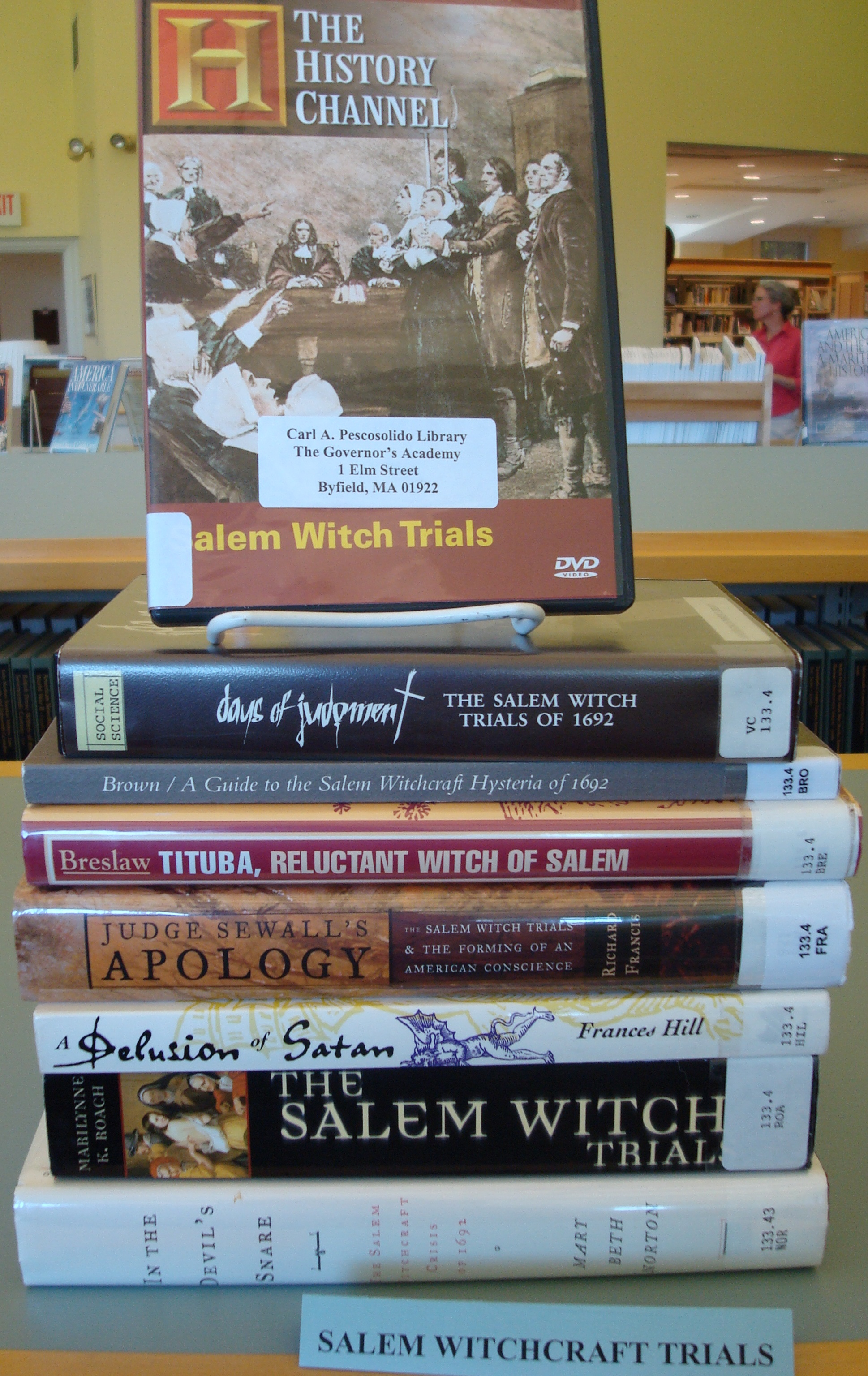 "tituba the reluctant witch of salem The 'black' witch of salem tituba, reluctant witch of salem: which portrayed tituba as the instigator of the salem witch trials with her many ""weird."