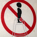 No Standing on Highchair