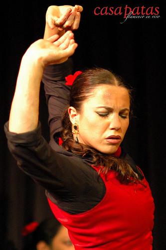 La bailaora Carmen González. Foto: Martín Guerrero