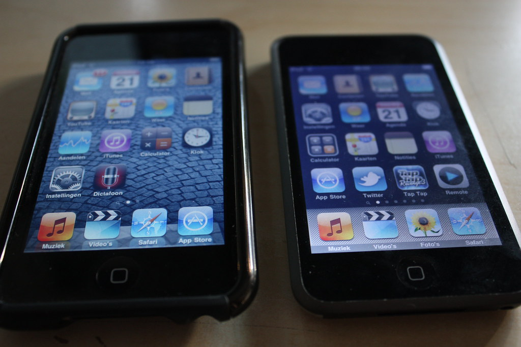 iOS 4 VS iPhone OS 3.1