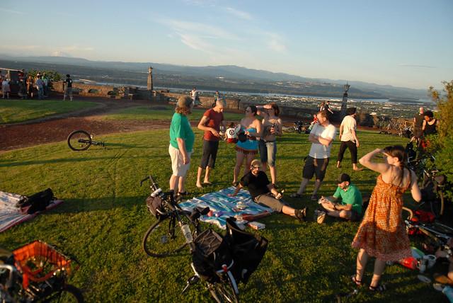 Rocky Butte Sunset Ride-7