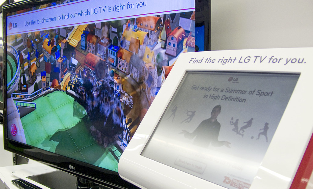 LG TV buyers Guide 1 | Here you can see the touch screen int