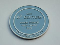 Photo of The Queen's Head, Wokingham blue plaque
