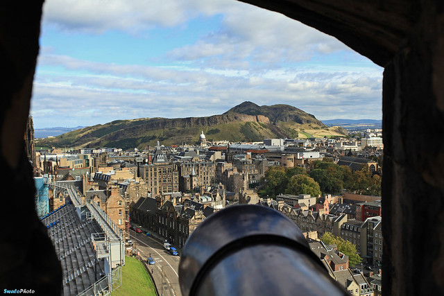 Salisbury Crags and Arthur's Seat, Holyrood Park, Edinburgh