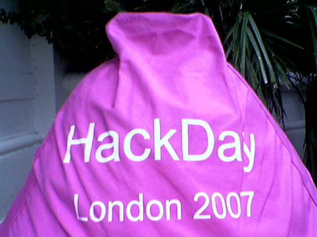 HackDay London: Day 1 (phonecam)