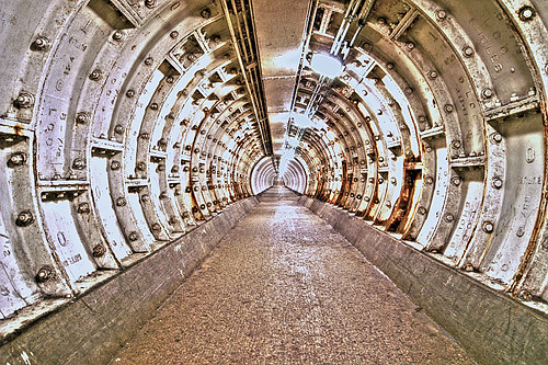 Greenwich Foot Tunnel - London