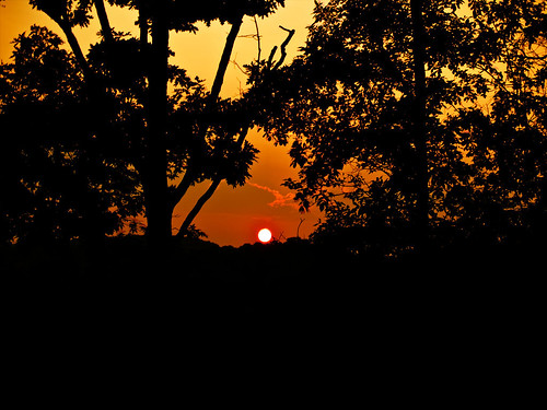 sunset sun sunlight twilight dusk tennessee olympus kingsport olympuse500