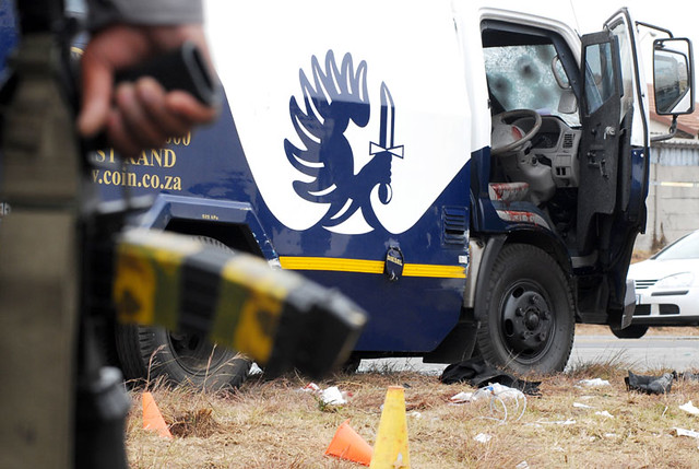 Cash-in-transit heist | Nine security guards were injured ...