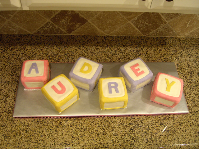 Baby Shower Cake - Building Blocks | Flickr - Photo Sharing!
