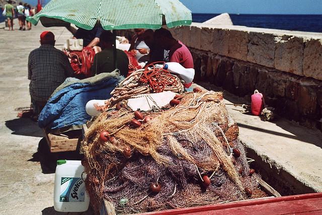 Fishing Net in Marettimo - New gallery on www.lucamoglia.it