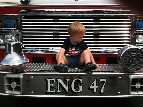 Fire truck wee woo