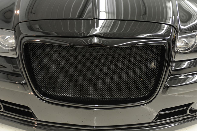 Chrysler 300 Bentley black mesh grill chrome bently grille ...  |Chrysler 300 Grills