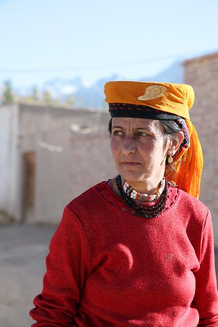 タシュクルガン、タジク族の女性