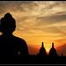 Borobudur sunrise by M3R