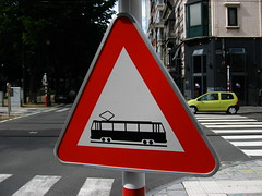 Warning - trams