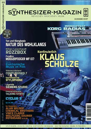 Synthesizer-Magazin Ausgabe 3 by Moogulator