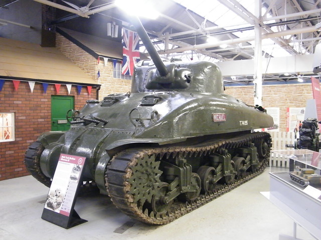 Bovington tank museum m4a4 sherman 17 pdr medium tank