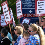 California RNs Hold Protest Vigils Over Giant Hospital Chain's Firing of Two RN Whistleblowers