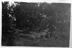 Juin 1918 - 2éme bataille de la Marne - Americains au bois de Belleau (photo VestPocket Kodak Marius Vasse 1891-1987) -