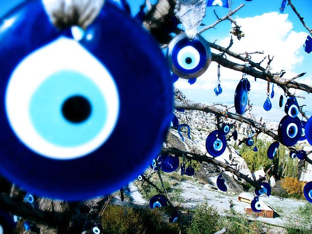 土耳其藍眼睛