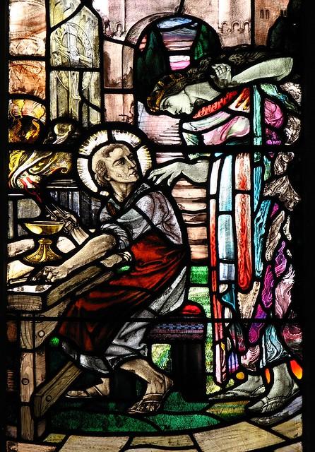 Glastonbury Abbey Glass Industry Medieval