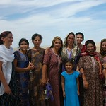 Group Picture of Women Pilgrims - Paraw Bibi, Turkmenistan