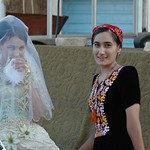 Bride and her Maid of Honor - Mary, Turkmenistan