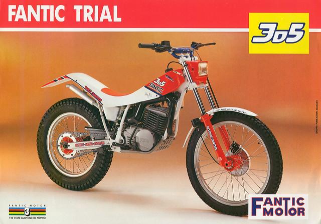Fantic 305 Trial | Fantic 305 Trial brochure scan ...
