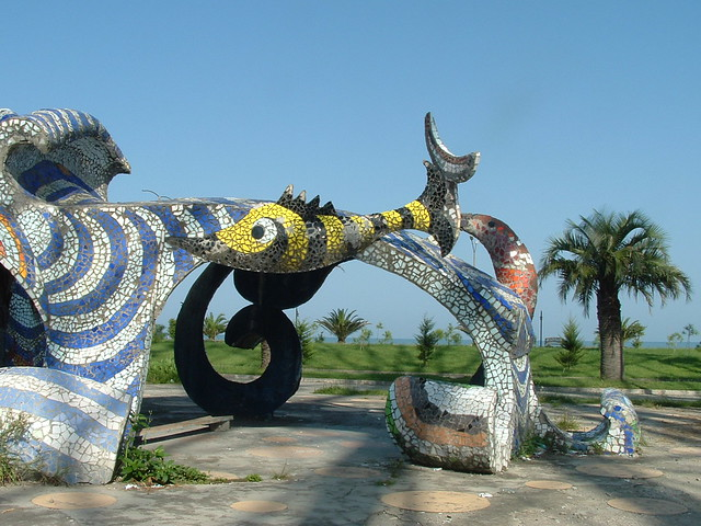 Mosaic Structure of Sea Creatures