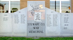 Stewart Co. Veterans Memorial