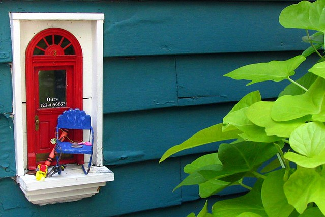 Fairy Door - Red Shoes